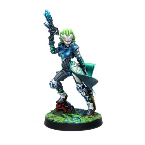 Infinity (#783) Kriigel Agents (Submachine Gun)