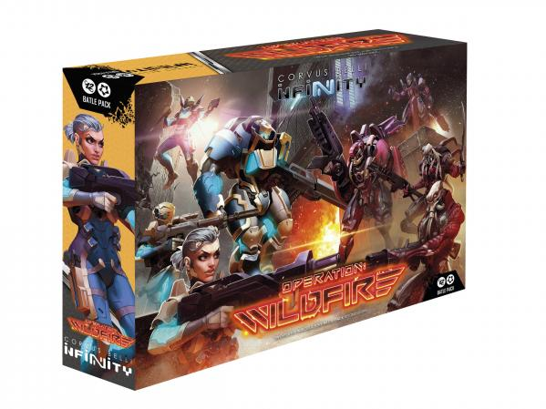 Infinity (#784) Operation: Wildfire Battle Pack + Limited Exclusive Miniature