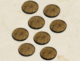 Blood & Plunder: (Accessory) Bases Set