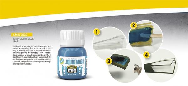 AMMO: Ultra Liquid Mask