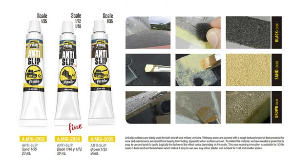 AMMO: Anti-Slip Paste - Sand Color For 1/35