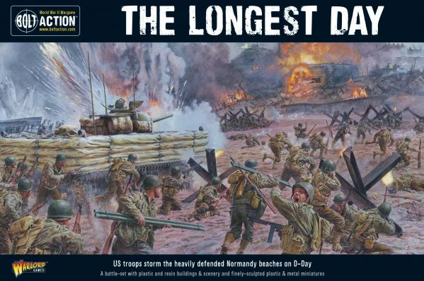 Bolt Action, 2nd Edition: The Longest Day: D-Day Battle Set