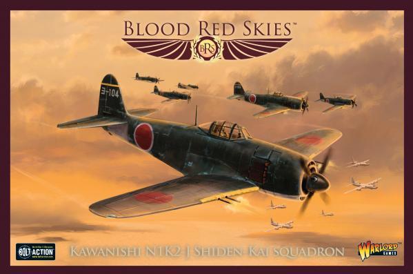 Blood Red Skies: Kawanishi N1K 'Shinden' Squadron