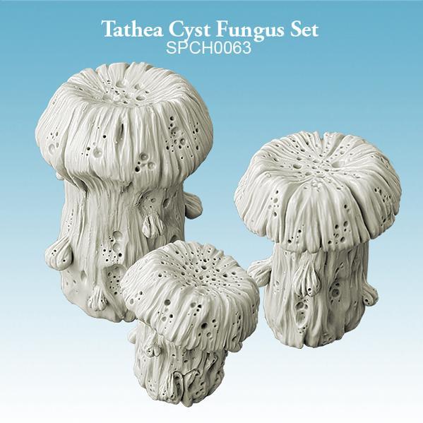 Miniature Terrain: Tathea Cyst Fungus Set