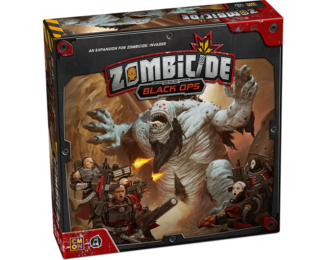 Zombicide: Invader - Black Ops Expansion