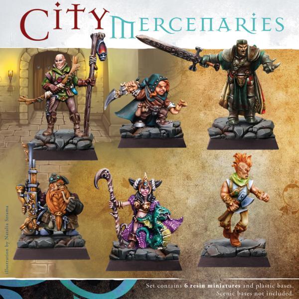 28mm Fantasy - City Mercenaries