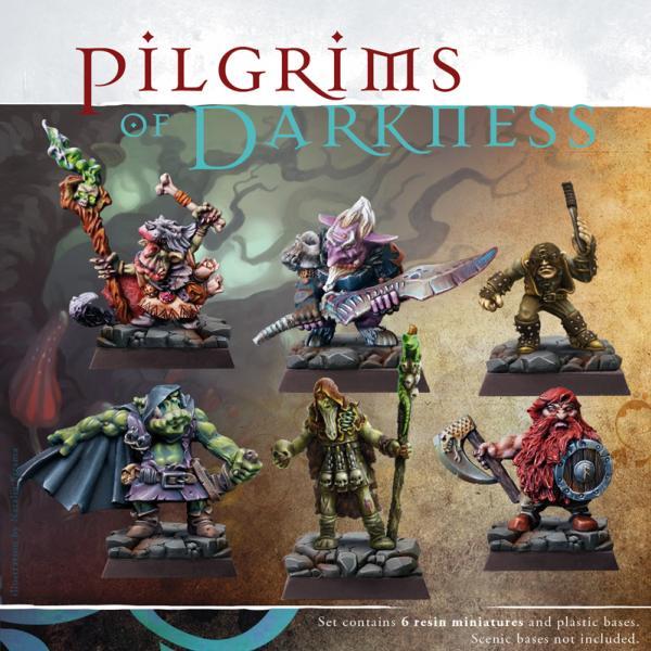 28mm Fantasy - Pilgrims of Darkness