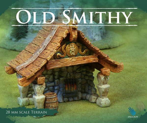 28mm Terrain: (Scenery) Old Smithy