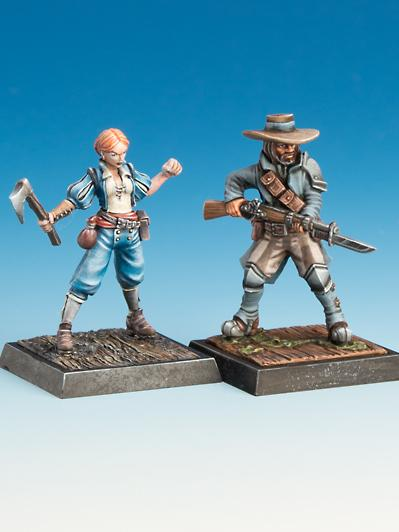 Freebooter's Fate: Assaltore & Seesoldatin