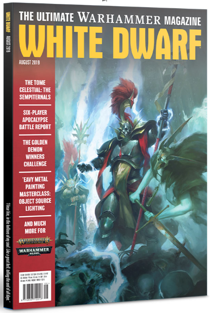 White Dwarf Magazine [AUG 2019]