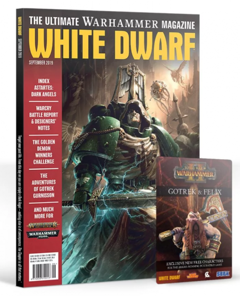 White Dwarf Magazine [SEP 2019]