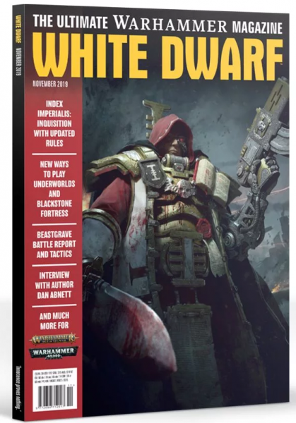 White Dwarf Magazine [NOV 2019]