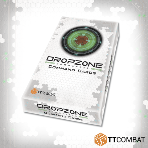 Dropzone Commander: Command Cards