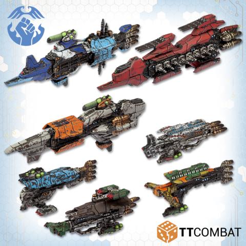Dropfleet Commander: Resistance Starter Fleet