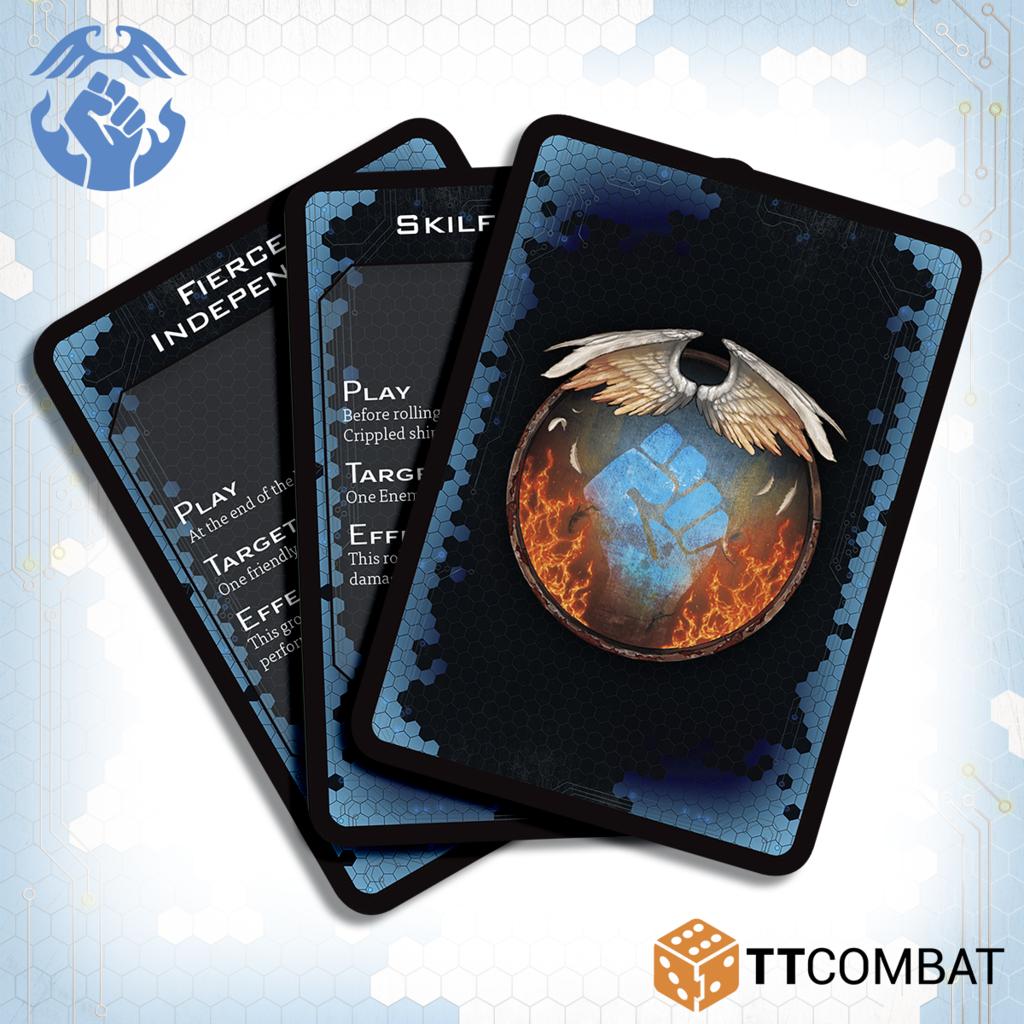 Dropfleet Commander: Resistance Command Cards