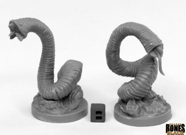 Dark Heaven Bones: Giant Leeches (2)