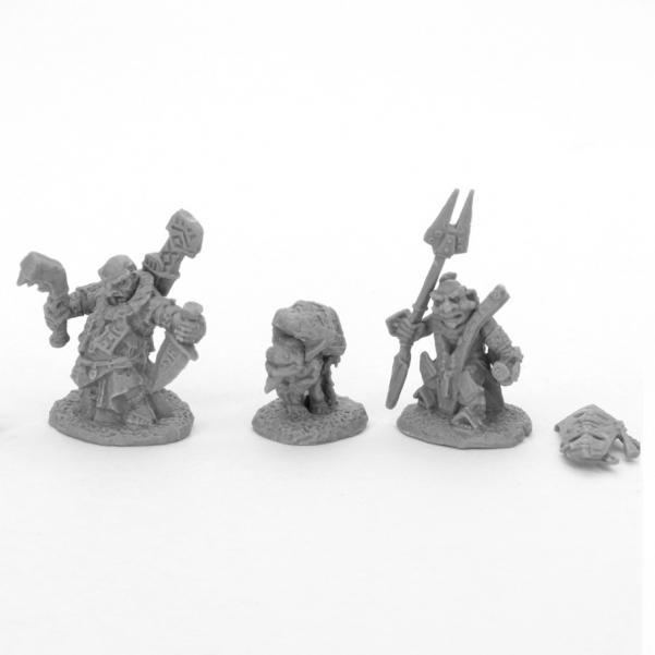 Reaper Bones Black: Bloodstone Gnome Heroes (2)