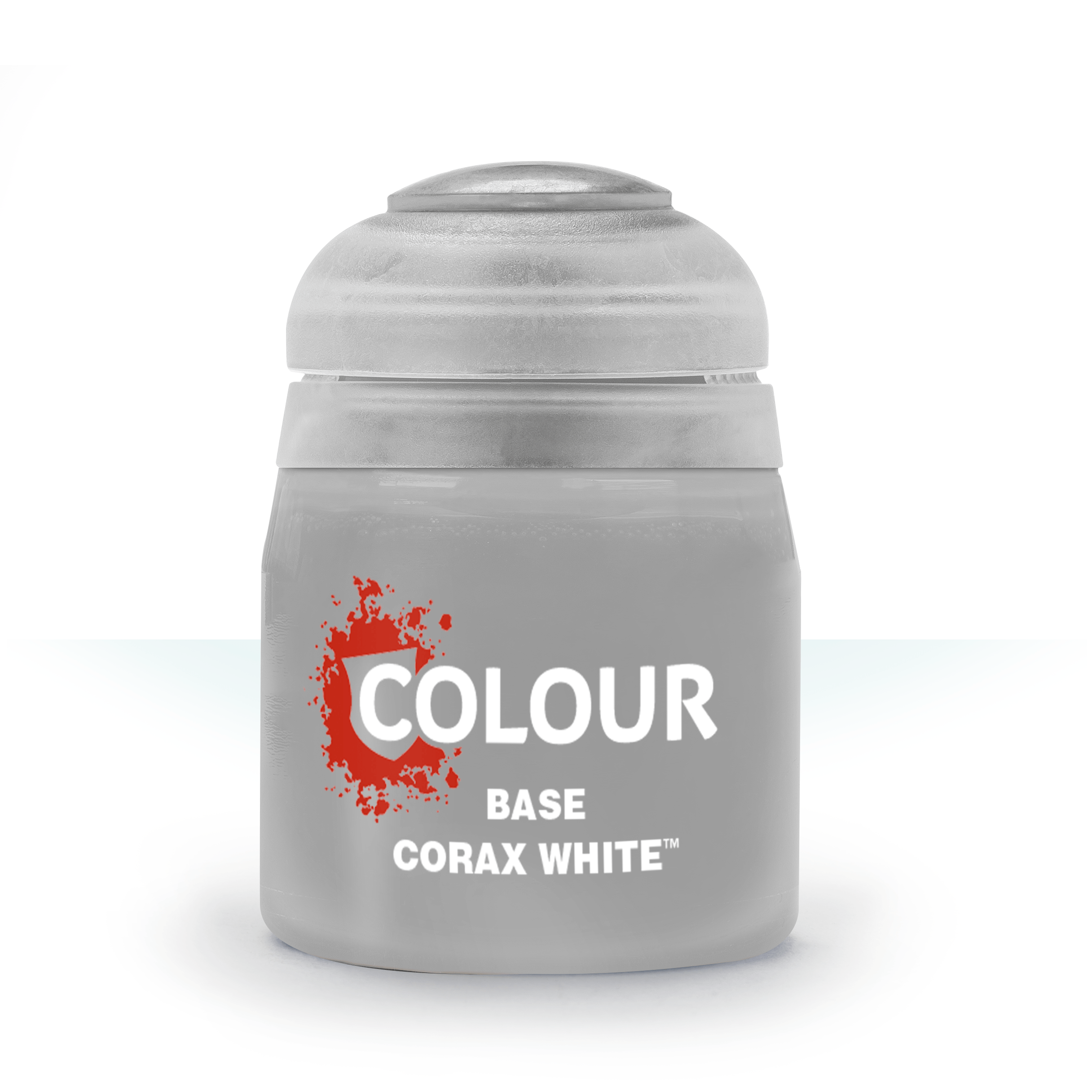 Citadel Base Paints: Corax White