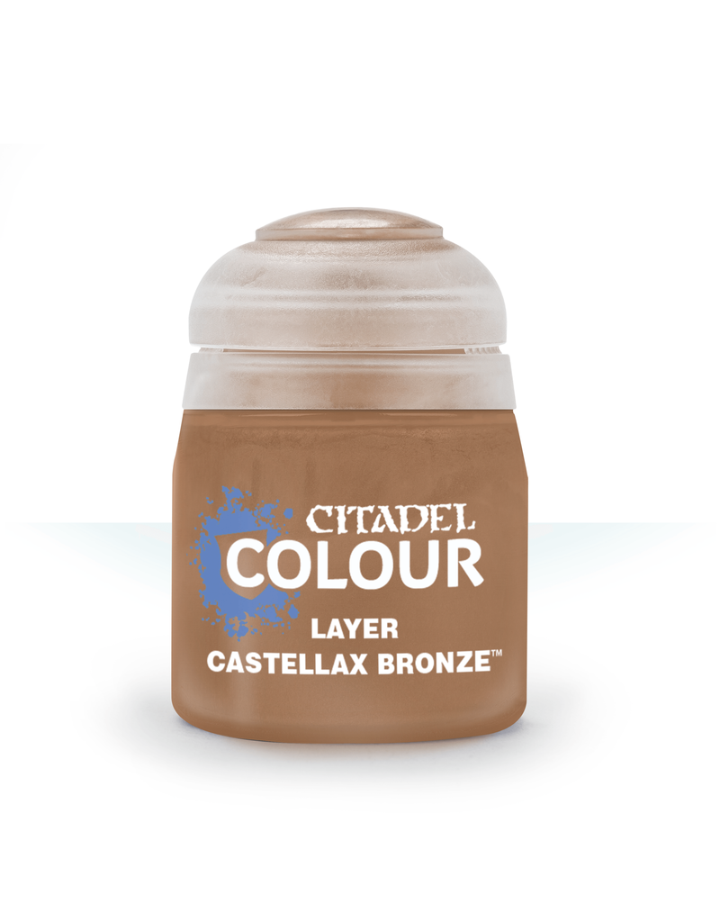 Citadel Layer Paints: Castellax Bronze