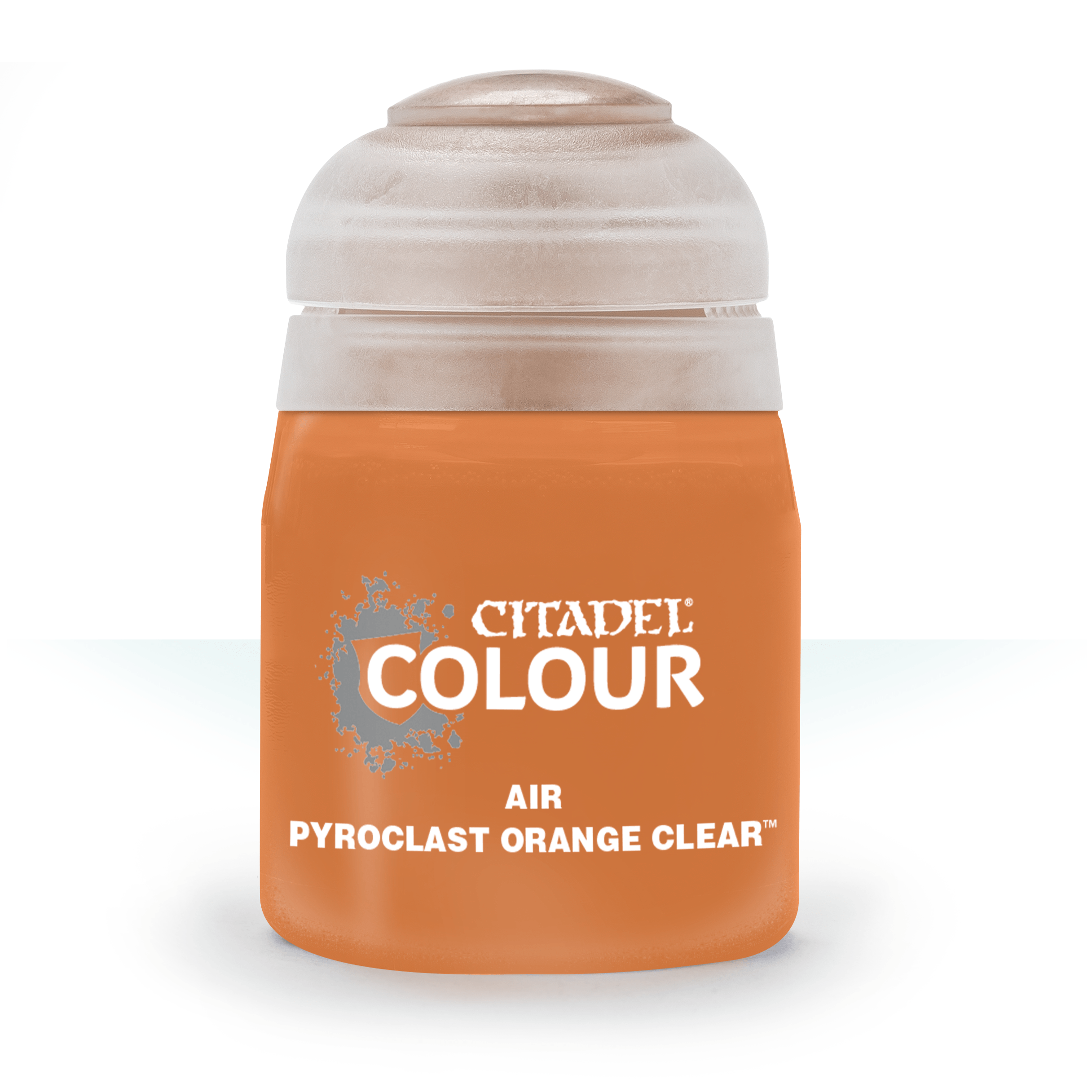 Citadel Airbrush Paints: Pyroclast Orange Clear