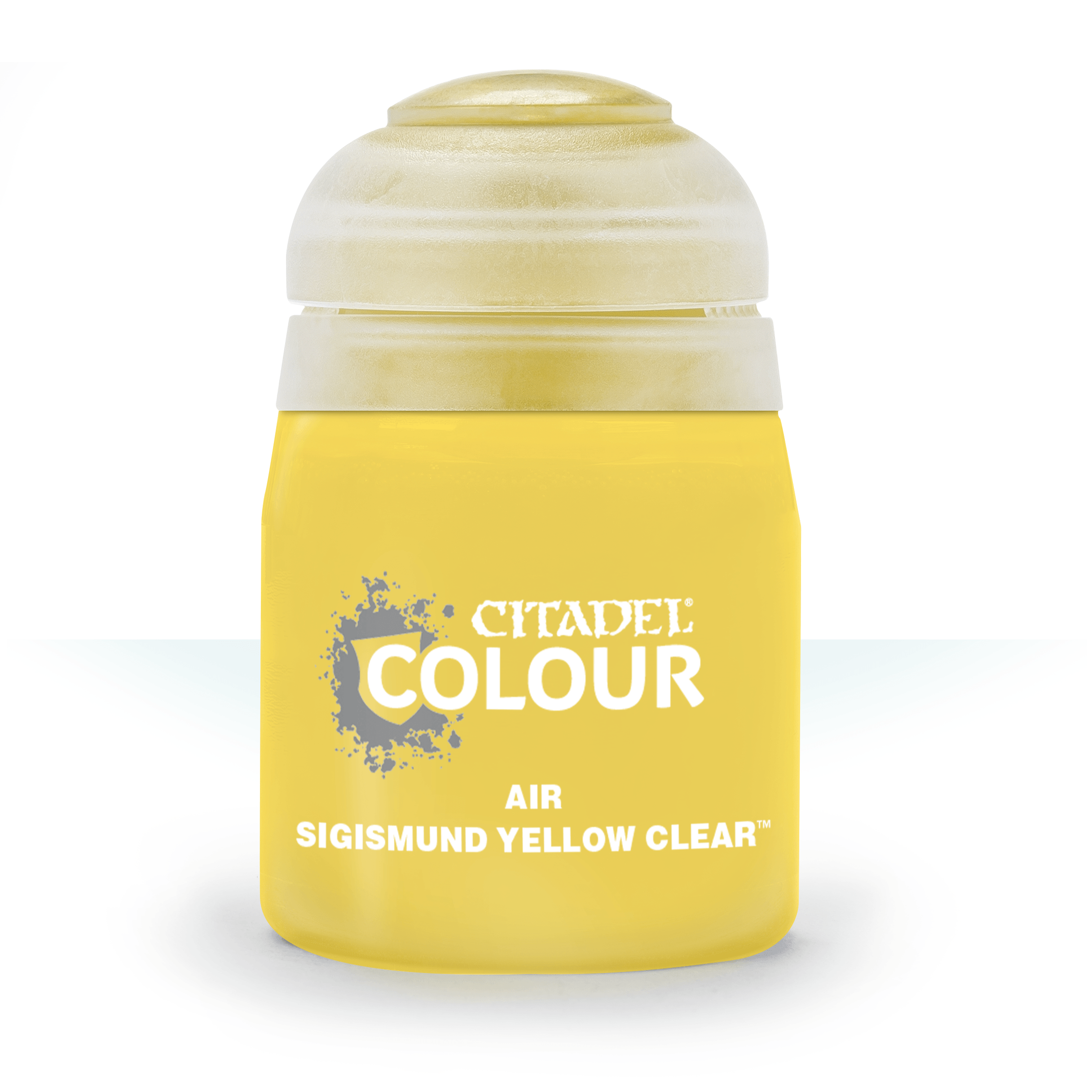 Citadel Airbrush Paints: Sigismund Yellow Clear