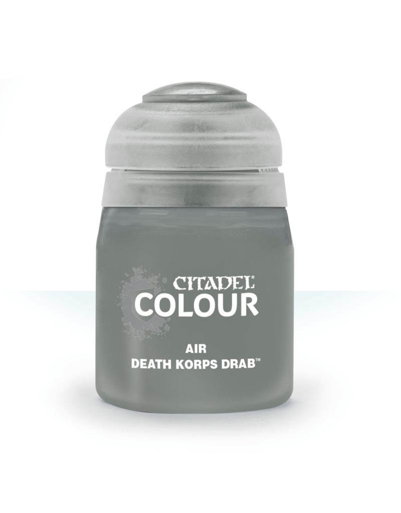 Citadel Airbrush Paints: Death Korps Drab