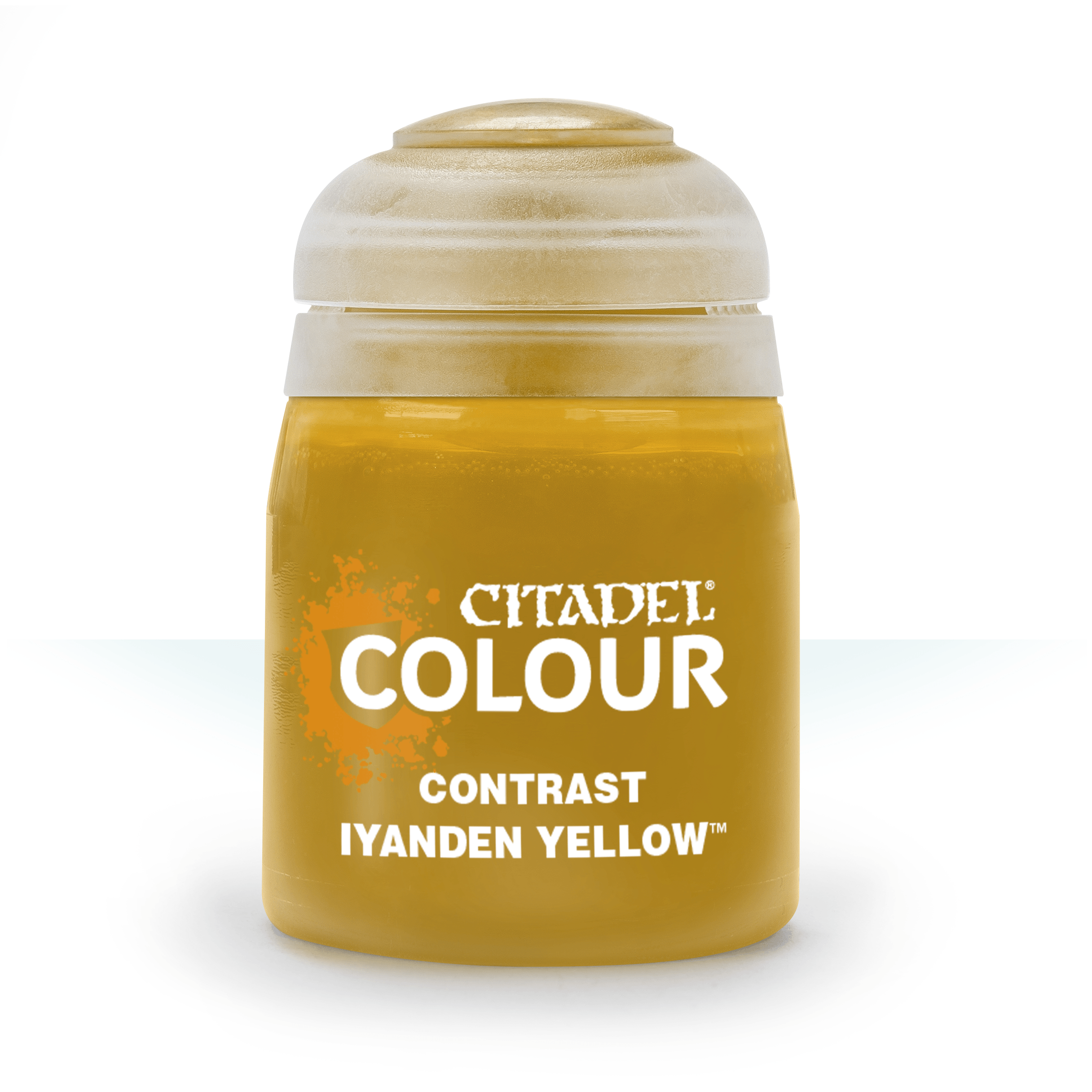 Citadel Contrast Paints: Iyanden Yellow