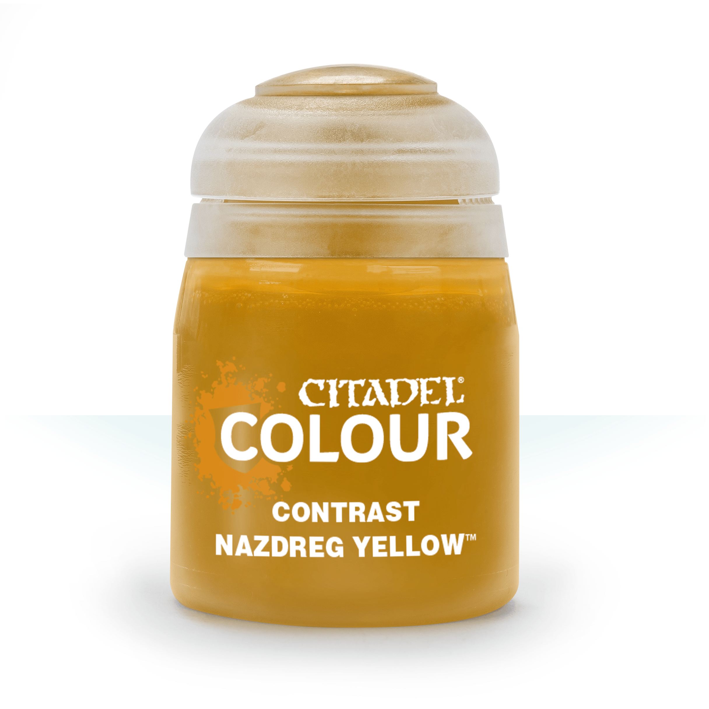 Citadel Contrast Paints: Nazdreg Yellow