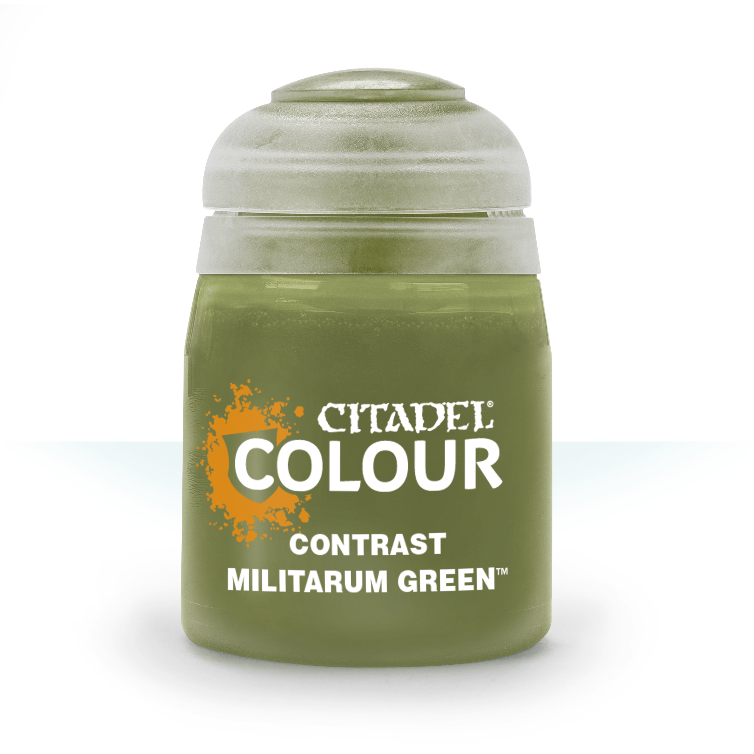 Citadel Contrast Paints: Militarum Green