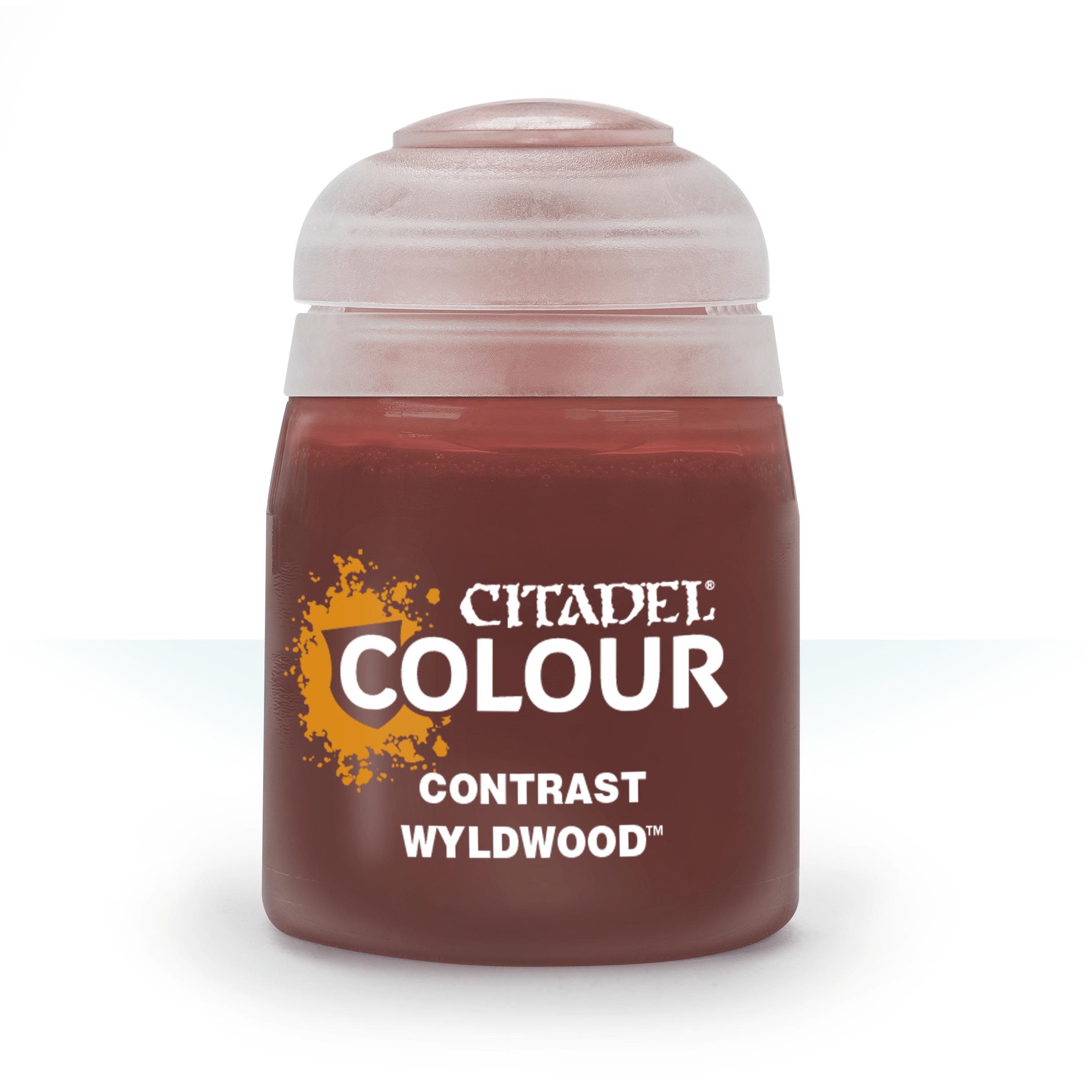 Citadel Contrast Paints: Wyldwood