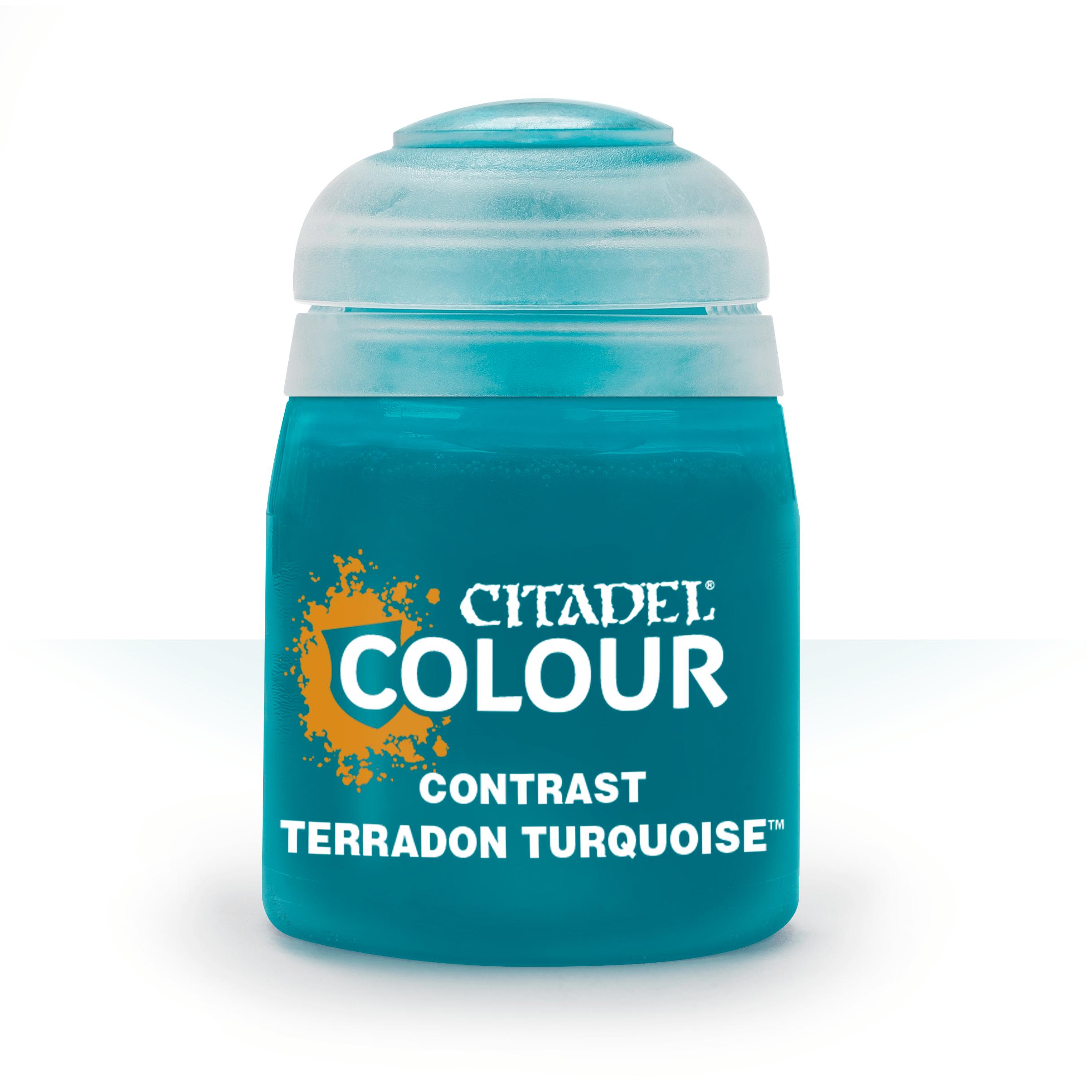 Citadel Contrast Paints: Terradon Turquoise