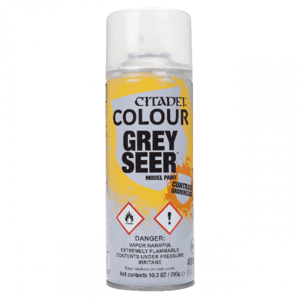 Citadel Spray Paints: Grey Seer