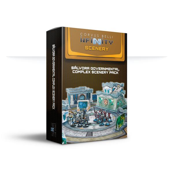 Infinity Accessories: Sálvora Governmental Complex Scenery Pack
