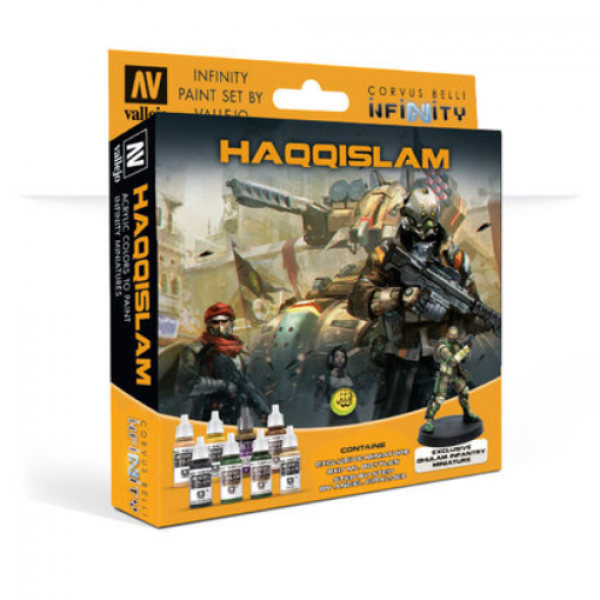 Infinity Paint Set: Haqqislam (w/Exclusive Miniature)