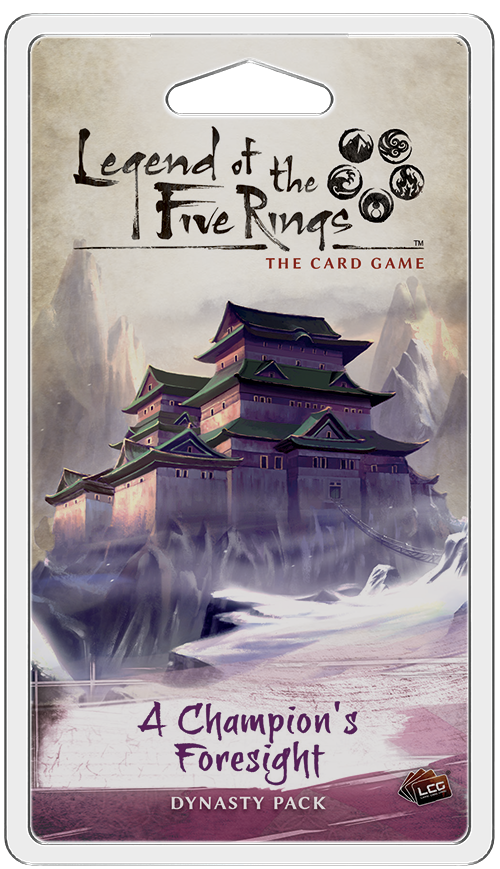 Legend of the Five Rings LCG: A Champion's Foresight Dynasty Pack