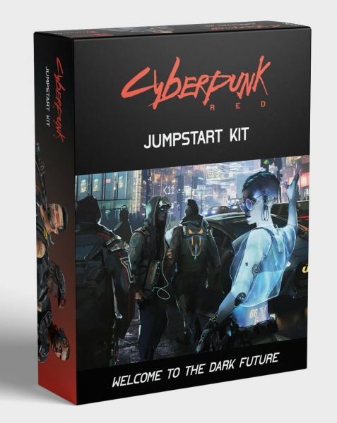 Cyberpunk Red RPG: Jumpstart Kit