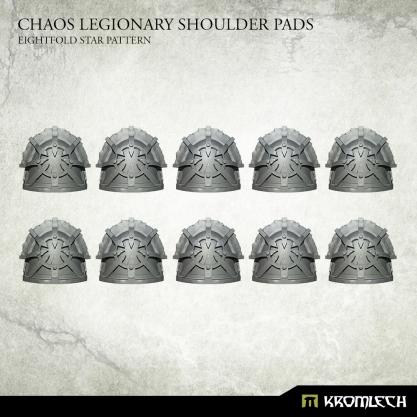 Conversion Bitz: Chaos Legionary Shoulder Pads: Eightfold Star (10)
