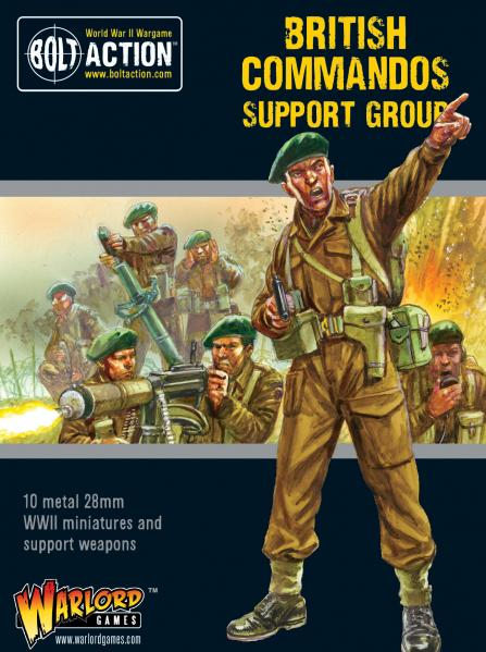 Bolt Action, 2nd Edition: Commandos Support Group