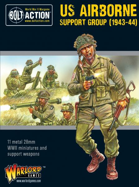 Bolt Action, 2nd Edition: US Airborne support group (1943-44)