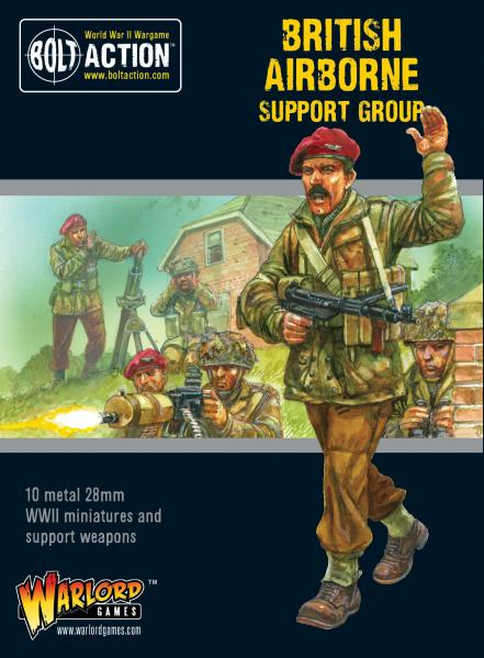 Bolt Action, 2nd Edition: British Airborne support group