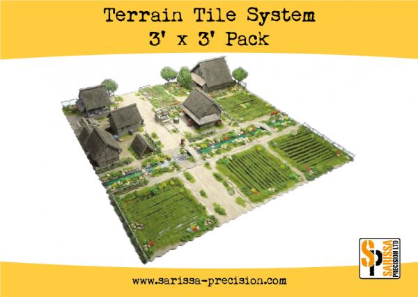 Bolt Action, 2nd Edition: Terrain Tile System Pack (TT01)