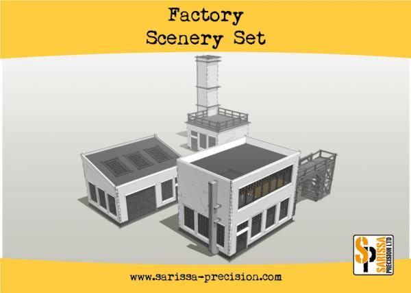 Bolt Action, 2nd Edition: Factory Scenery Set