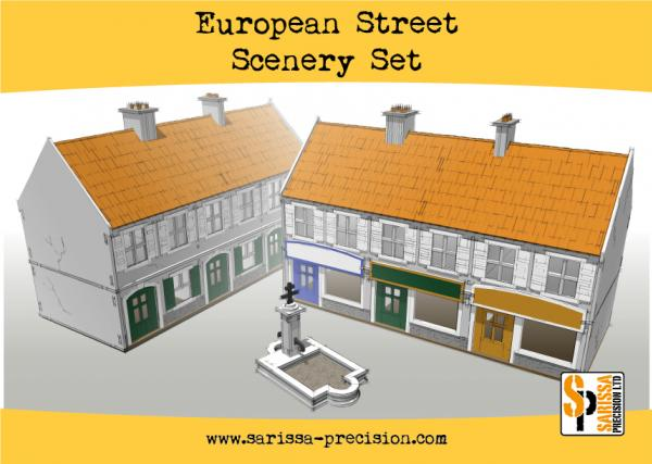 Bolt Action, 2nd Edition: European Street Scenery Set