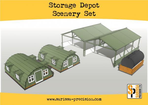 Bolt Action, 2nd Edition: Storage Shelter Scenery Set