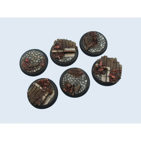 Battle Bases: Triad Bases, Round 40mm (2)