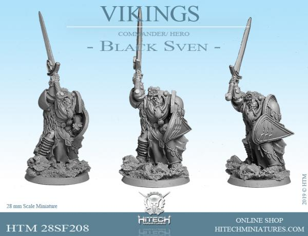 HiTech Miniatures: Black Sven