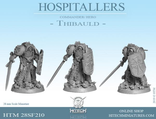 HiTech Miniatures: Thibauld