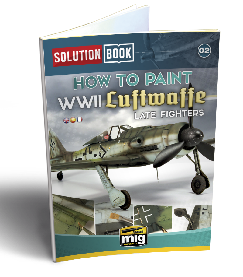 AMMO: Solution Book - WWII Luftwaffe Late Fighters Book