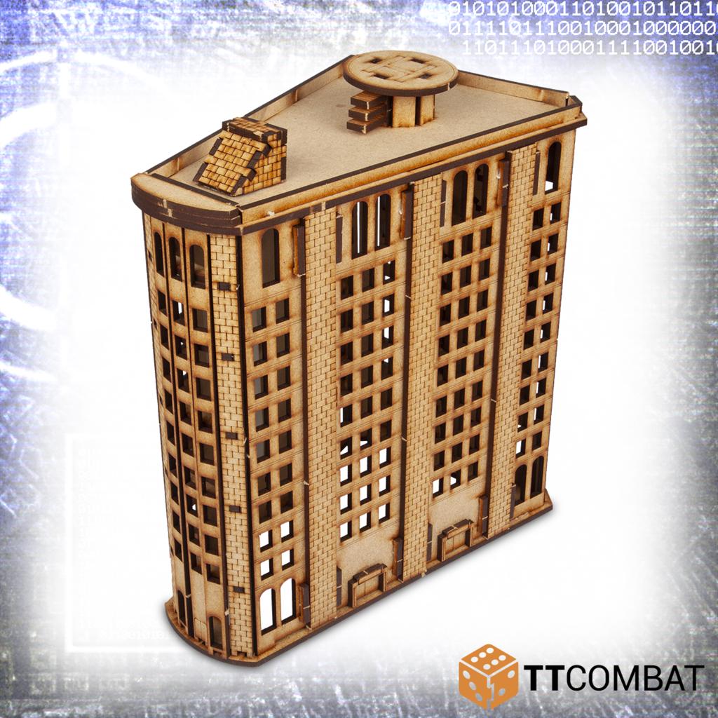 10mm Terrain: Sci-fi Scenics - Level Steel Building