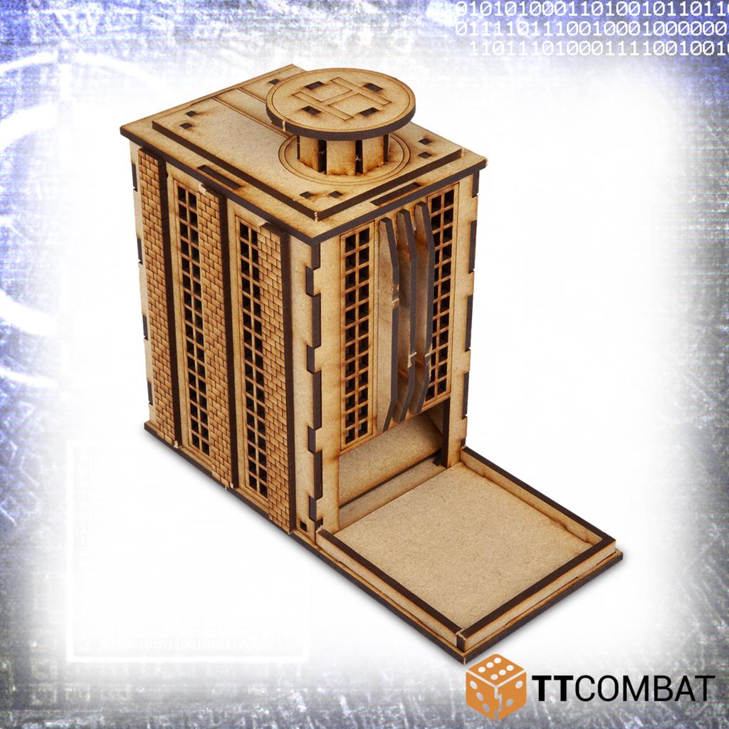 10mm Terrain: Sci-fi Scenics - Dicington Tower